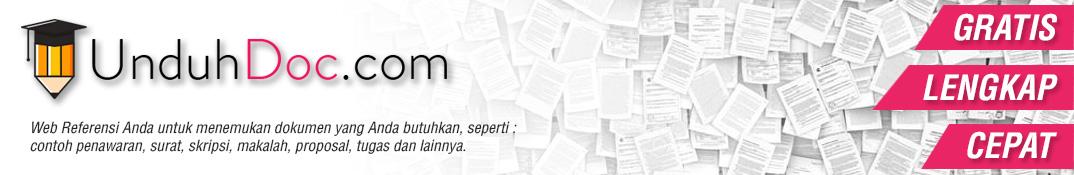 Contoh Makalah dan Skripsi - Situs Berkas Contoh Dokumen